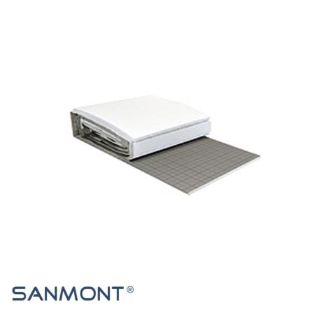 Fußbodenheizung Tackersystem, Fußbodenheizung Komplettset, einzelne Komponenten, Sanmont, onlinshop, Dämmrolle für Tackersystem, Wärmeleitgruppen, WLG Dämmung