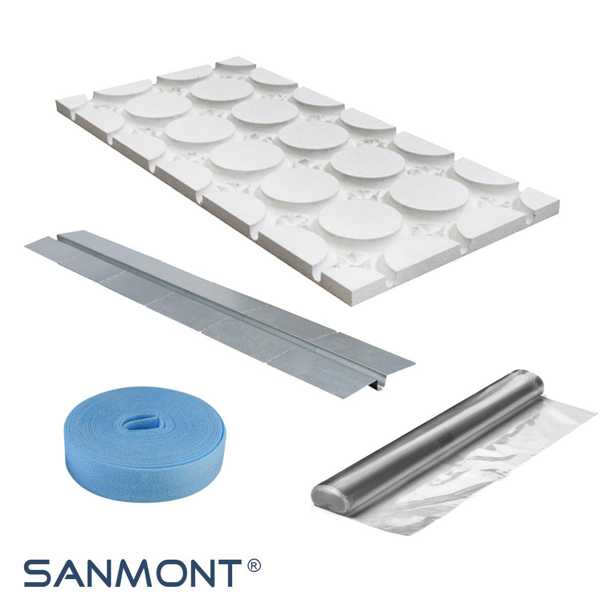 fu bodenheizung kaufen im online shop von sanmont. Black Bedroom Furniture Sets. Home Design Ideas