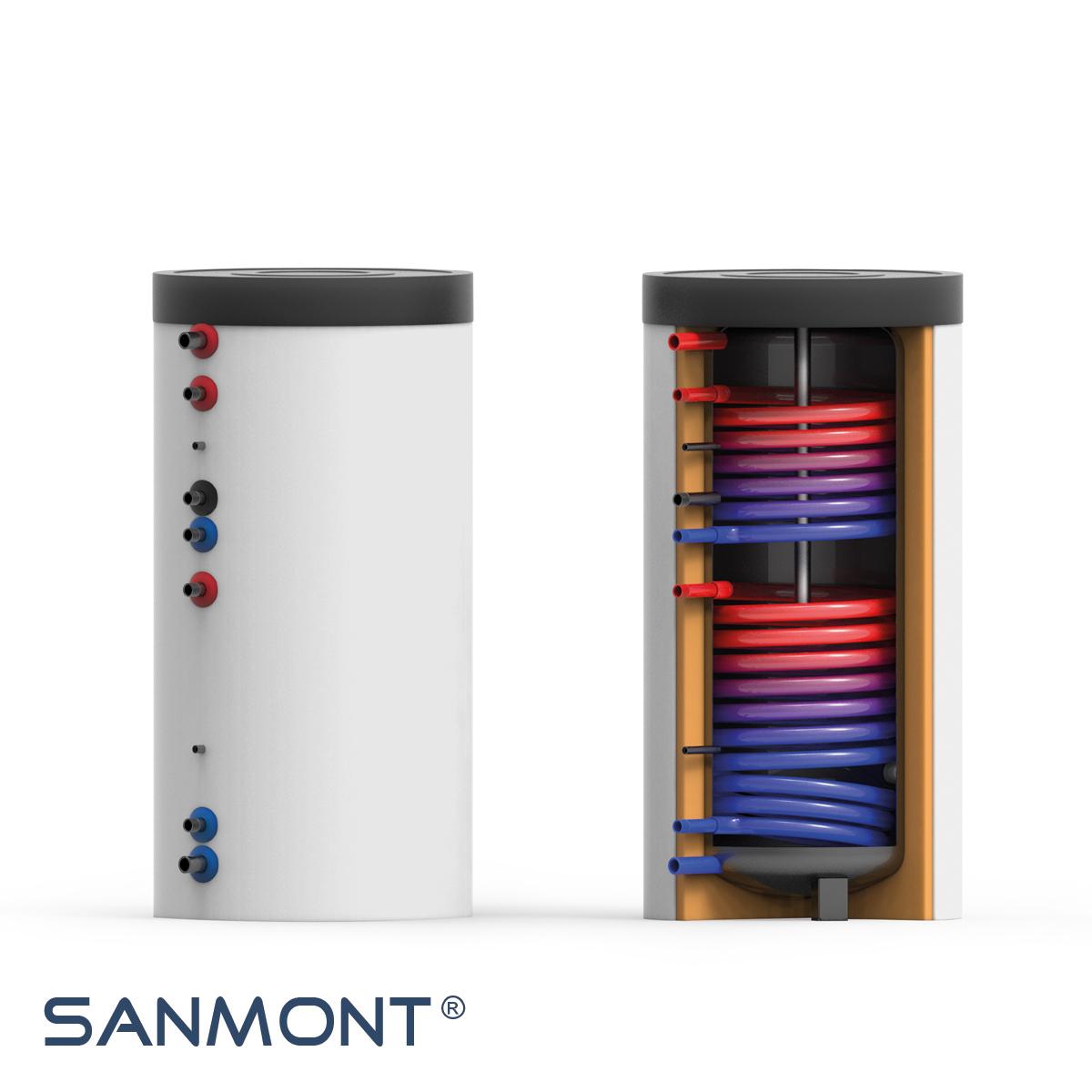 trinkwasser speicher 300 400 tws 2w compact sanmont shop heizk rper fussbodenheizung. Black Bedroom Furniture Sets. Home Design Ideas