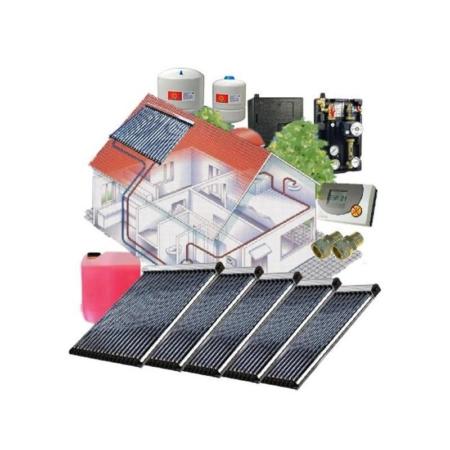 Solarpackete kaufen Solarthermie komplettanlagen für dach kollektorflaeche