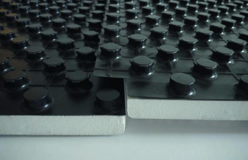 Noppensystem Plattenverbindung